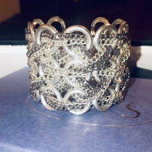 Beautiful Silver Cuff Bracelet